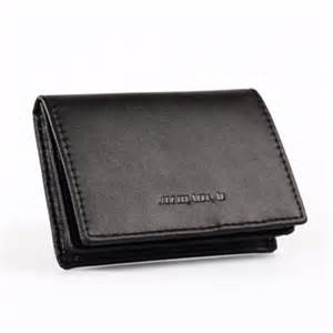 business card holder for wallet high quality credit card holder fashion black business