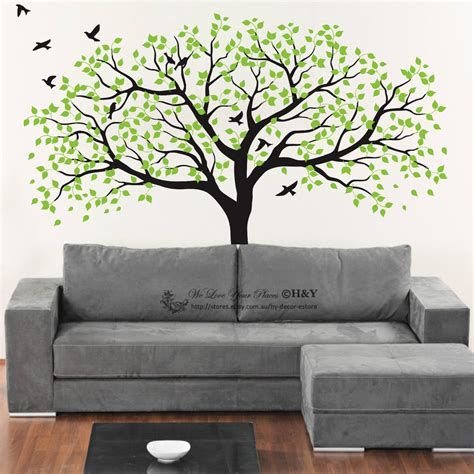 ebay tree wall stickers 150x180cm nursery tree wall stickers removable
