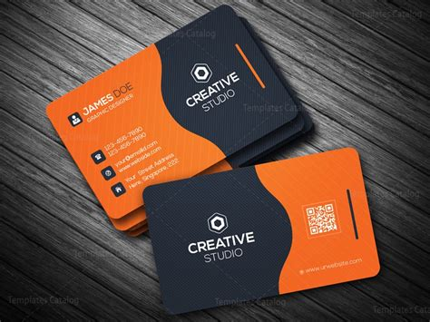 eps business card template business card template in eps format 000088 template catalog