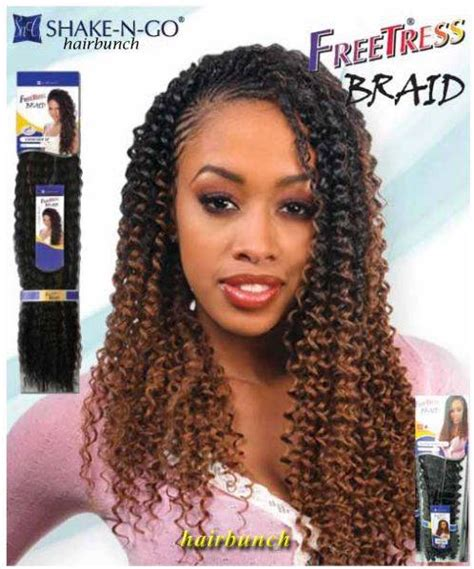 synthetic hair active with hot water freetress premium synthetic hair braid water wave bulk