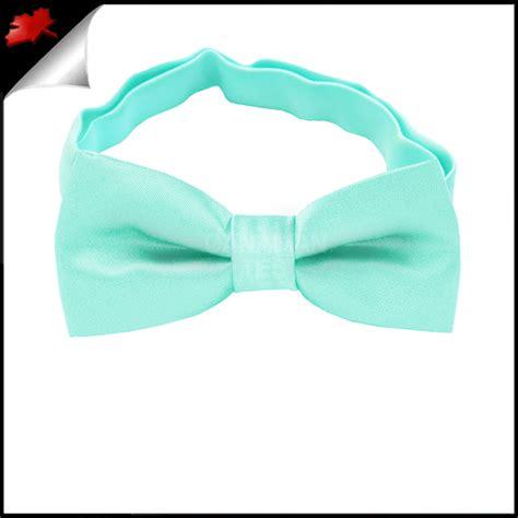 mint green boys bow tie canadian ties