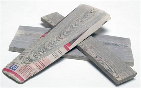 How To Make Paper Gadgets - righteous recycling newspaper becomes nouveau wood