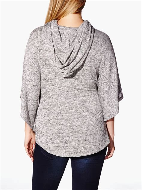 Maternity Sleeve Hooded Dress 3 4 sleeve hooded maternity poncho sweater thyme maternity