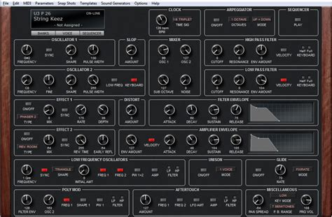 tr editpro soundeditor soundtower software software dave smith instruments prophet 6