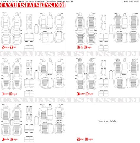 interior design guide 2009 2014 nissan murano custom leather upholstery