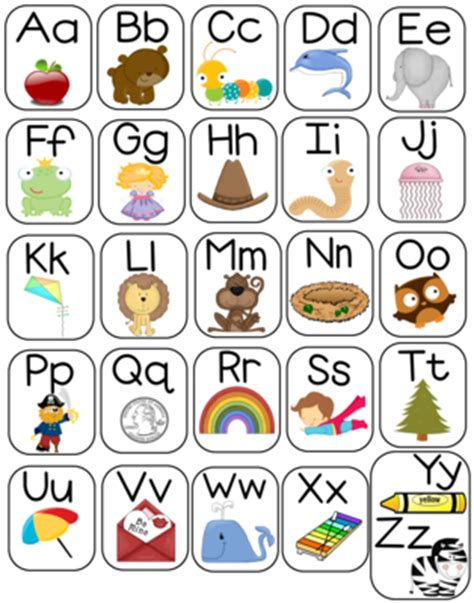 free printable alphabet letters posters large 11x14 alphabet poster