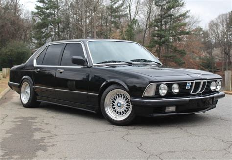 modified 1984 bmw 745i 5 speed bring a trailer