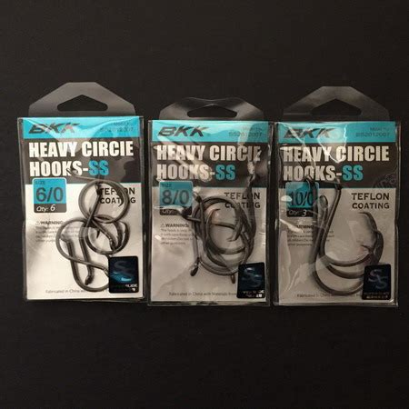 Bkk Treble Hooks Model No 6066 5x Cb Size50 Qty 4 Pcs bkk heavy circle hooks ss 6 0 ss2012007 6 0 7 49 cad