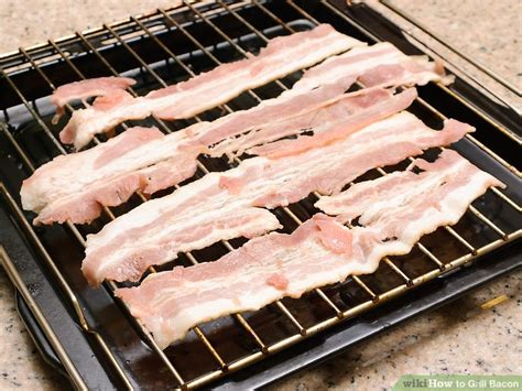 Bacon Grillé by 3 Ways To Grill Bacon Wikihow