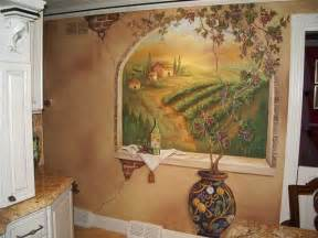 Wall Murals For Kitchen Tuscan Kitchens On Pinterest Tuscan Decor Tuscan Style