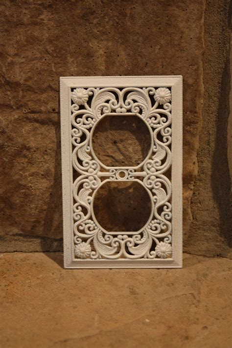 shabby chic outlet covers shabby chic distressed outlet cover outlet covers