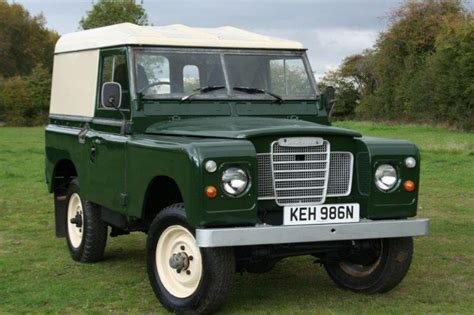 land rover series 1 hardtop 1974 land rover series iii 2 3 88 quot top for sale