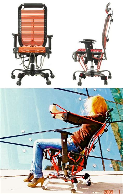 Workout Office Chair by Feel The Burn 600 Exercise Office Chair Geekologie