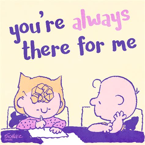 Always There snoopy you re always there for me