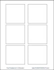 Templates To Print by Template For Printing Directly On 3 Quot X 3 Quot Post It Notes