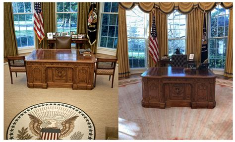donald trump oval office decor from fdr to trump how the oval office decor has changed