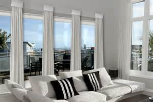 Windows Family Room Ideas Contemporary Cornice Window Treatments