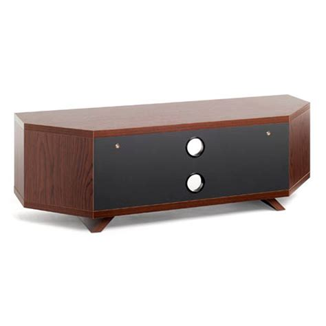corner tv cabinet 55 inch techlink dual dl115wsg walnut satin grey corner tv stand