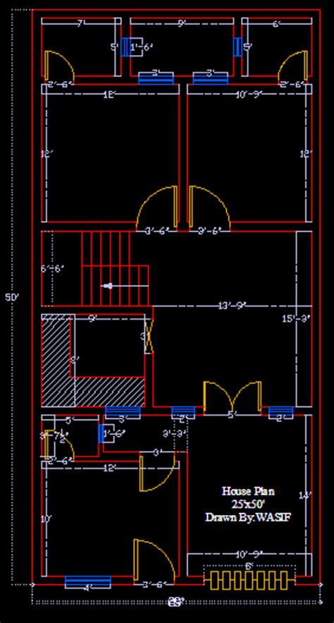 design  beautiful  house design  autocad  wasif