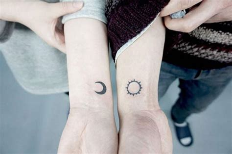 34 matching couple tattoos all lovers will appreciate
