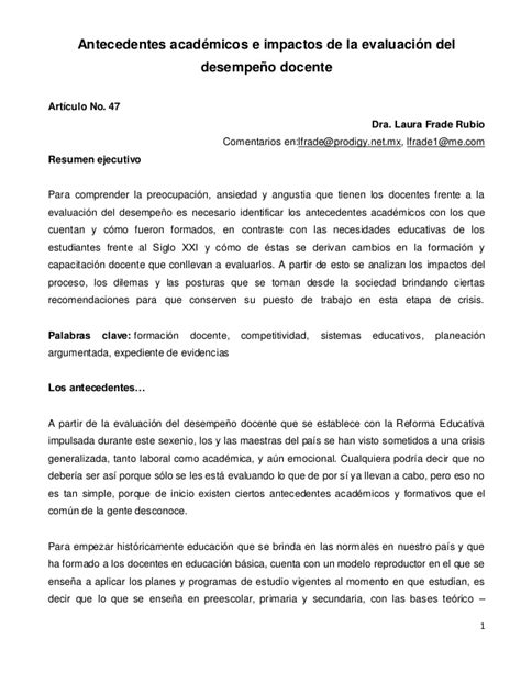 resultado de evaluacion docente 2015 resultados de evaluacion al desempeo docente 2015