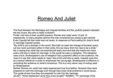 themes of romeo and juliet gcse resources for homework help family online safety