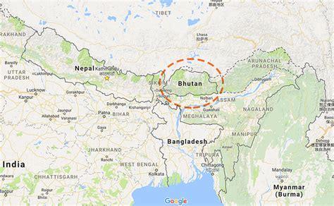 where is bhutan on a world map where is bhutan where is bhutan located in the world map