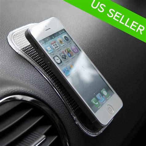 Car Anti Slip Mat Sticky Pad For Phone Gps Mp4 Mp3 Transpara new car gel grip sticky pad anti slide non slip mat dash