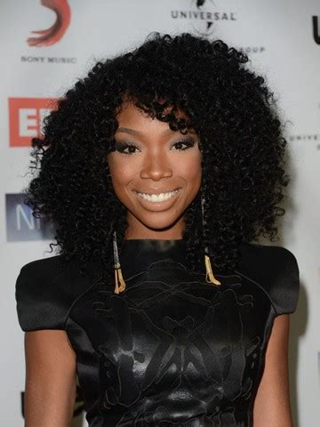 brandi granville natural hair colir stock brandy norwood curly human hair full lace wig curly