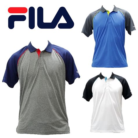 different color shirt in nwt fila 3 different colors of vintage polo shirts