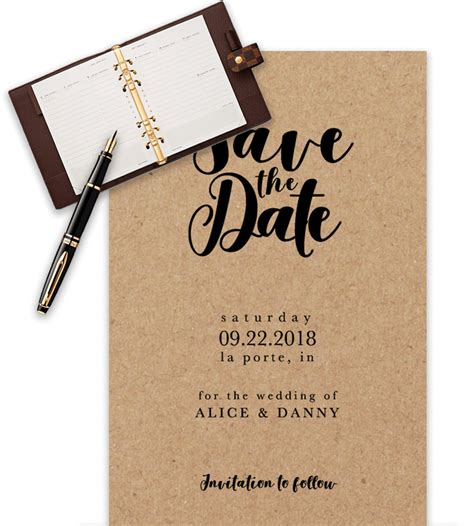 save the date template wedding save the date templates in word for free