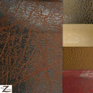 Recycled Leather Upholstery Vinyl Faux Fake Leather Pleather 2 Tone Distressed Granum