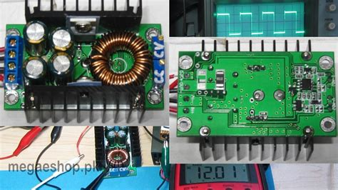 Step Buck Converter Dc Cc 9a 300w 5 40v To 1 2 35v dc cc adjustable 0 2 9a 300w step buck converter 5 40v to 1 2 35v power supply module buy