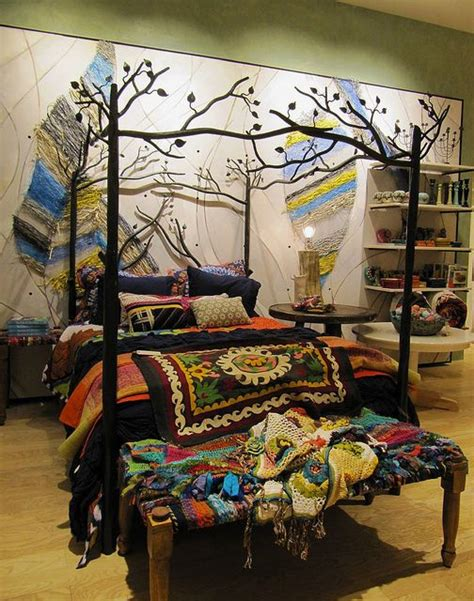 boho bed frame 17 boho bed ideas