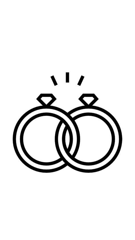 Pin de brcnbrse em İnstagram Story White | Aliança desenho