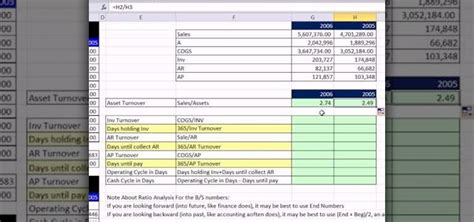How To Search For Assets How To Find Asset Turnover Capital Intensity And