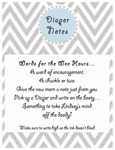 Baby Shower Writing by Baby Shower Write A Note On A Ideas