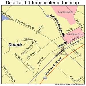 duluth map 1324600