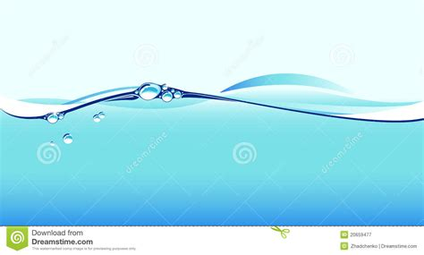 section water cross section of water splash stock vector illustration