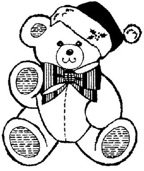 christmas coloring pages teddy bear printable christmas coloring page teddy bear