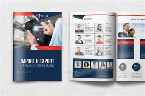 company profile brochure template company profile brochure template vol 44 12 pages by