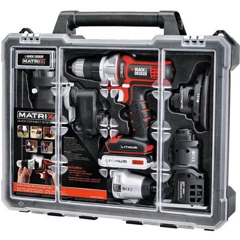 Black Decker Bdcdmt1206kitc Matrix 6 Tool Combo Kit W