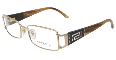 new versace eyeglasses ve 1163b brown 1221 50mm ve1163 ebay