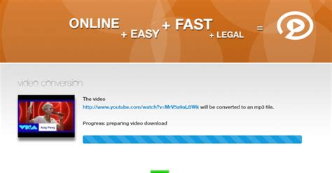 tutorial net youtube convert2mp3 net download youtube to mp3 tutorial step 3