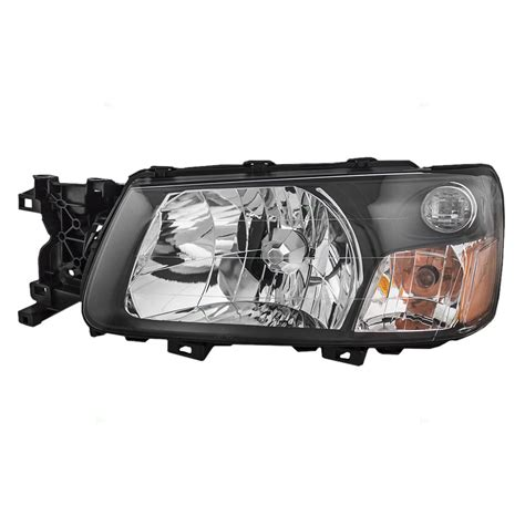 subaru forester headlights autoandart com 05 subaru forester new drivers headlight