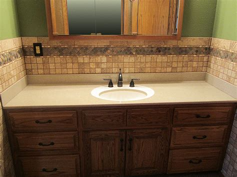 Custom Bathroom Countertops With Sink by Custom Bathroom Cabinets Custom Laminate Countertops