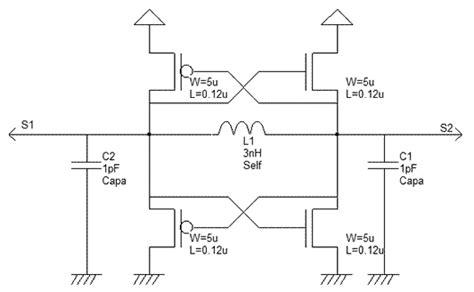 capacitor inductor diff rfc oscillators