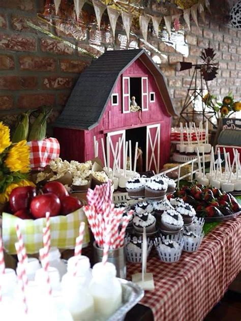 farm themed birthday supplies kara s party ideas old mcdonald farm themed birthday party