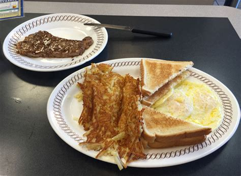 waffle house steak review of the waffle house 33309 restaurant 4840 powerline rd