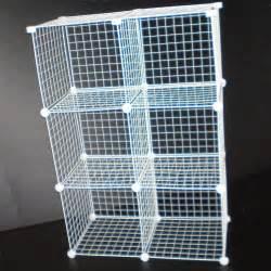 wire modular shelving white wire mesh cube modular storage unit universal fit